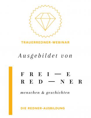Siegel Trauerredner Webinar