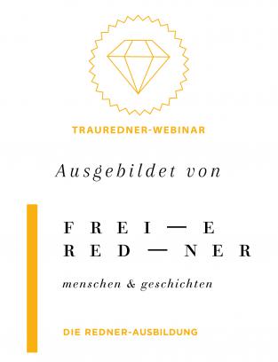 Siegel Trauredner Webinar