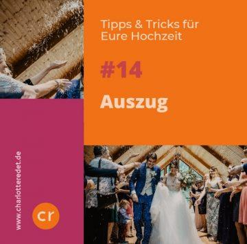 Hochzeits-Auszug
